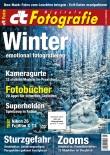 c�t Fotografie in Schnee und Eis