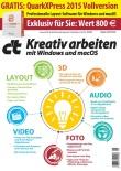 """c't-Sonderheft """"Kreativ arbeiten"""" mit QuarkXPress 2015"""