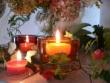 Stimmungsvoller Kerzenschein