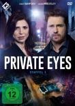 Flotter Zweier-Kanadier: Jason Priestley + Cindy Sampson in Private Eyes
