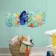 Disney-Wandsticker in Sekunden anbringen, abnehmen und neu positionieren